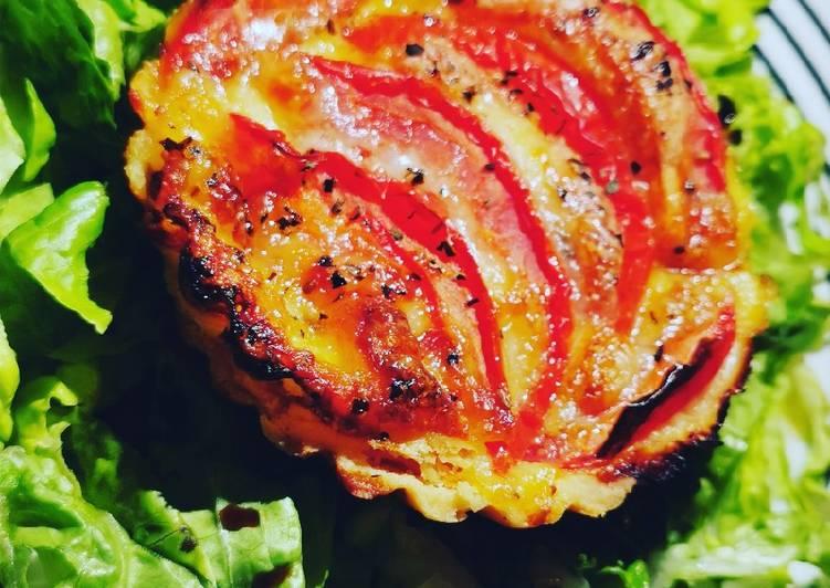 Tartelette tomate, mozza