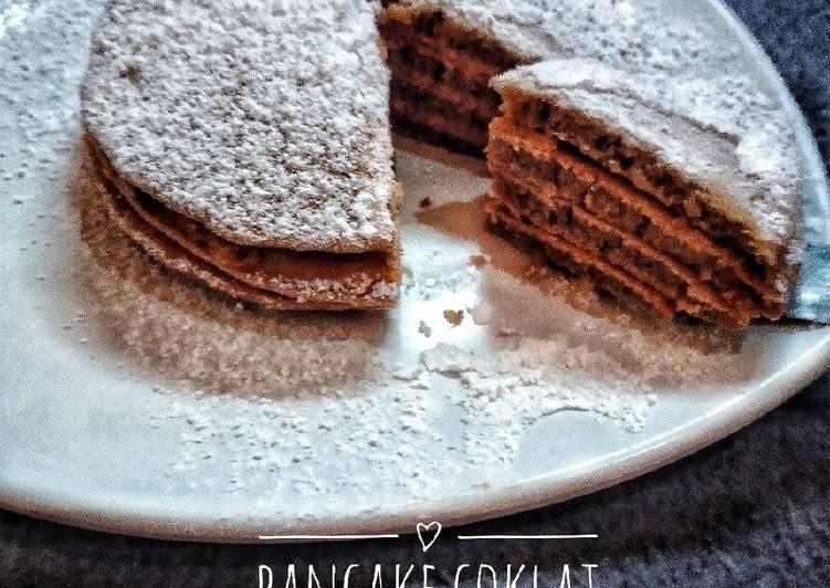 Resep Pancake lapis selai kacang Top