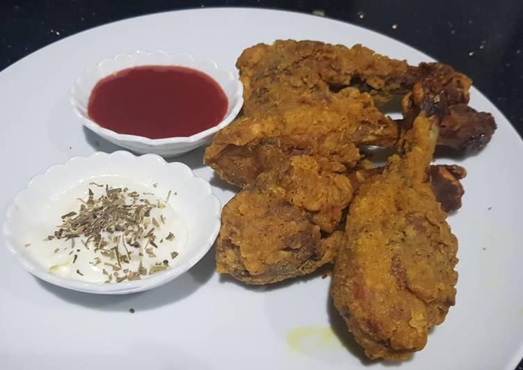 Chicken fry drumsticks
