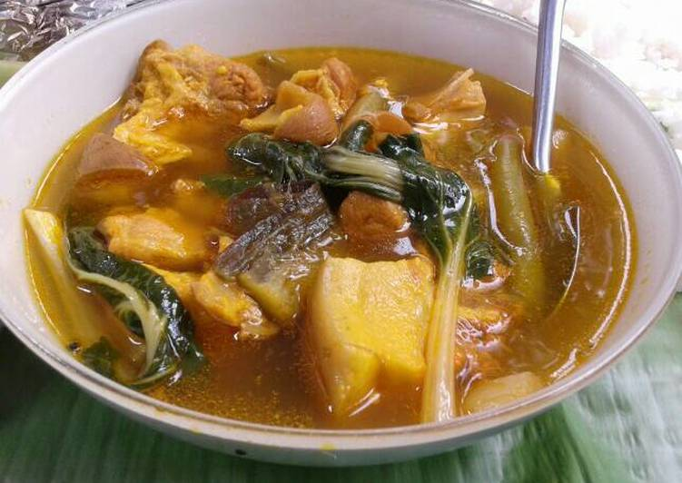 Top 10 Dinner Ideas Winter Filipino style pork and vegestable stew (Lauya)