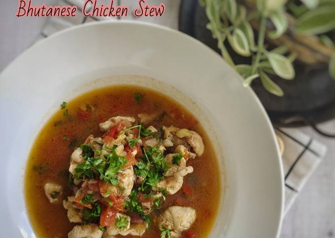 Langkah Mudah untuk Membuat Jasha Maroo (Bhutanese Chicken Stew)🇧🇹, Bisa Manjain Lidah