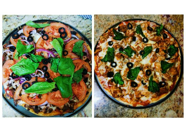 Boerewors & BBQ Chicken Pizzas