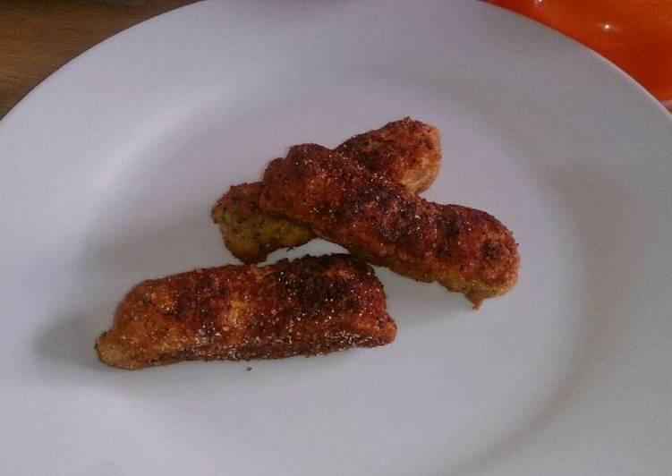 Bread crusted Angelfish