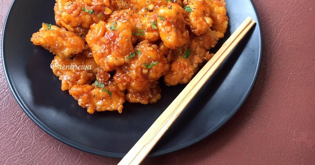 Resep Honey Spicy Chicken Kkuldak Kw Oleh Rena Andini Cookpad