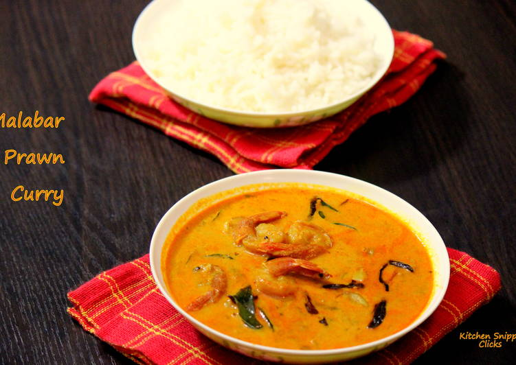 Malabar Prawn Curry Choosing Healthy and balanced Fast Food