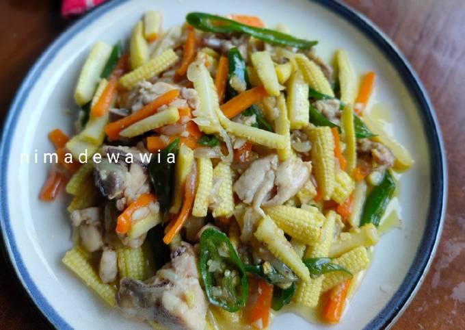 Resep Tumis Baby Corn Oleh Wawia Ni Made Cookpad