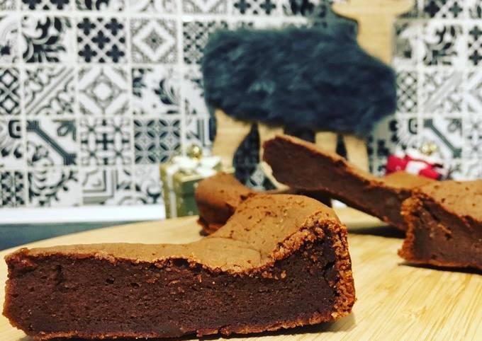 Fondant chocolat crème de marron
