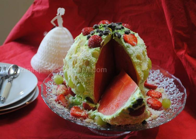 Recipe of Award-winning No bake watermelon cake