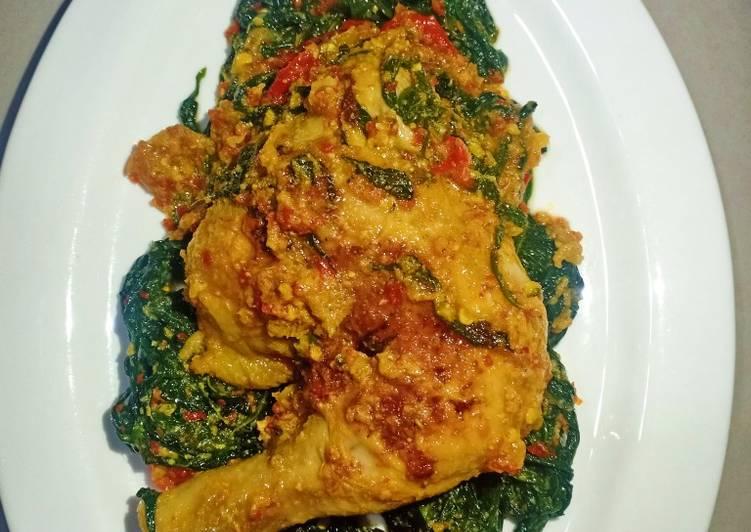 Ayam Betutu Simple (Tanpa Kuah)