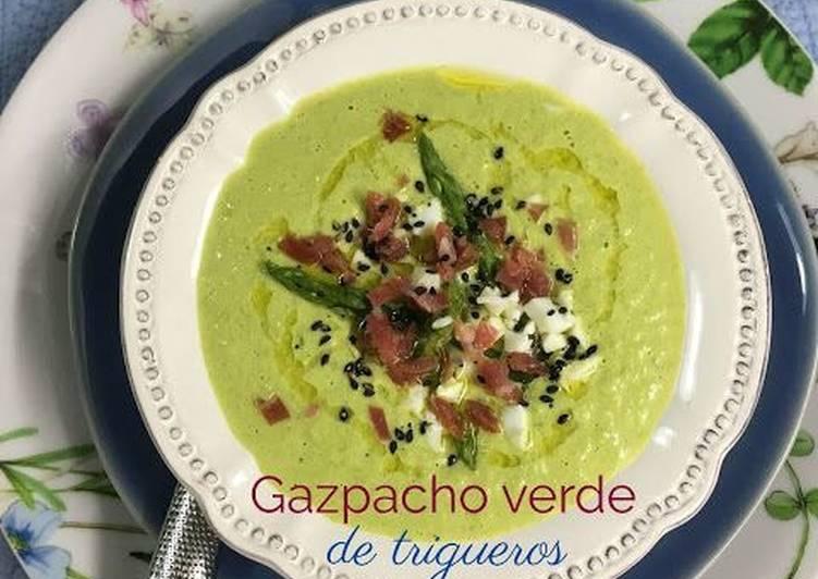 Gazpacho Verde De Trigueros Receta De Las Recetas De Martuka