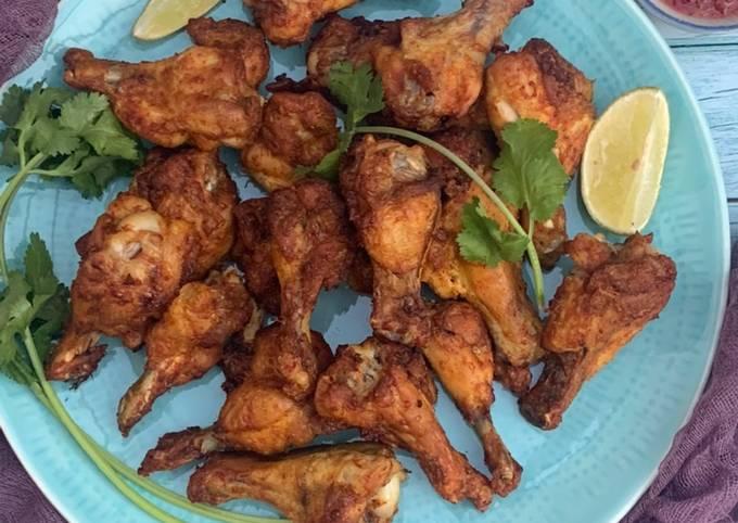 Air fryer - Fried chicken wings