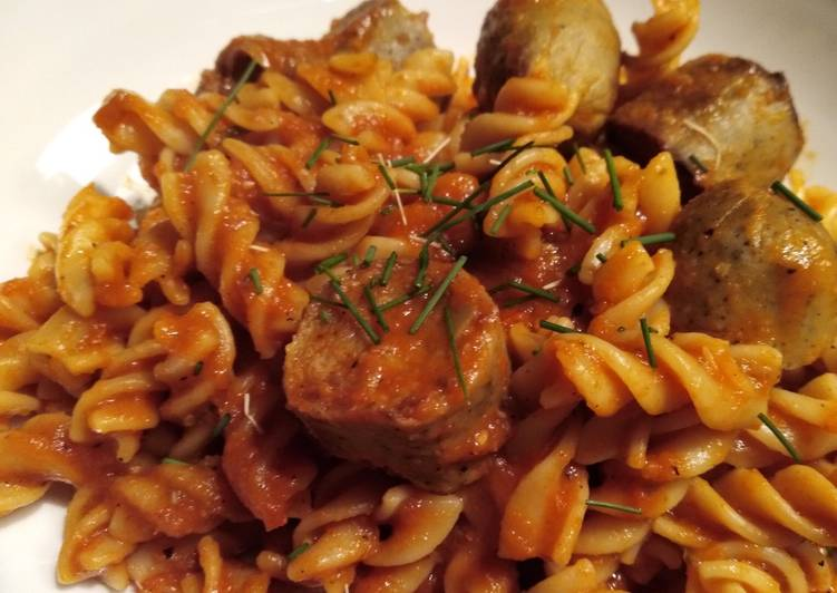 Steps to Prepare Any-night-of-the-week Sausage Pasta