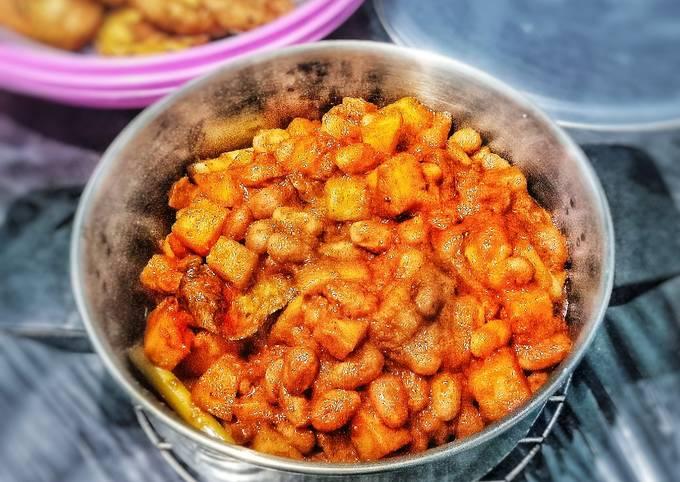 Rendang Kacang Ndul Plus kentang