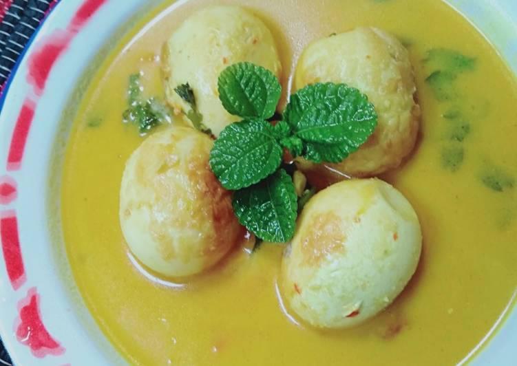 Sayur telur kuah kuning