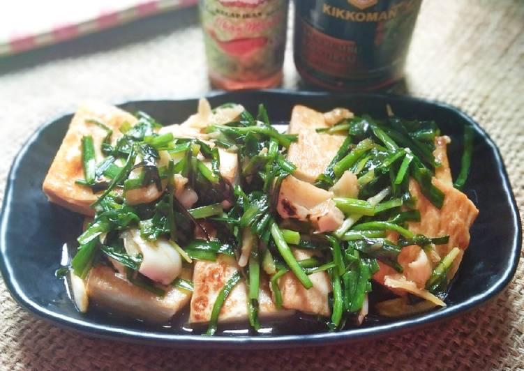 Tumis tofu Kucai🍀