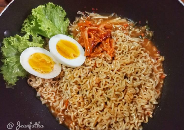Resep Mie Ramen Korea Ramyeon Rumahan Super Simple Oleh Jeje Jeekitchen Cookpad