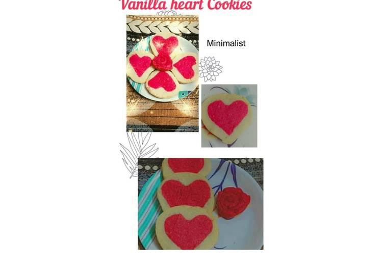 Simple Way to Make Favorite Vanilla heart cookies