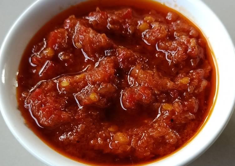 38. Sambal Tomat Terasi Matang