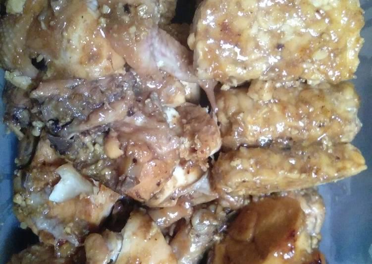 Resep Ayam bakar bumbu bacem Yang Simple Pasti Nagih