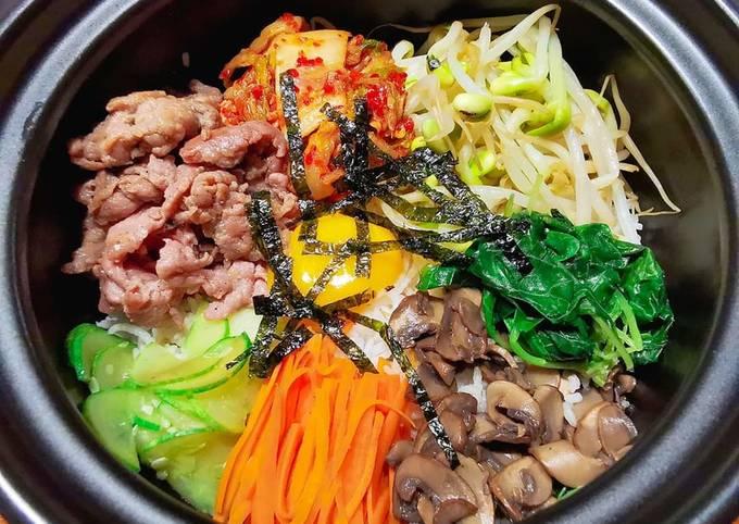 韓式拌飯 BIBIMBAP