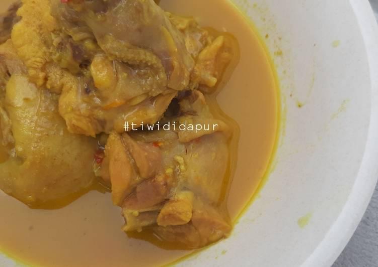 Resep Kare ayam Terenak