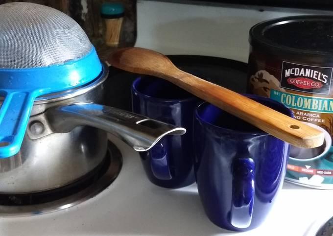 Cafe de olla con cardamom