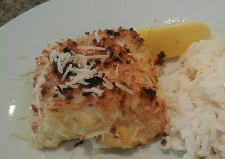 10 Minute Step-by-Step Guide to Make Blends Parmesan crusted COD