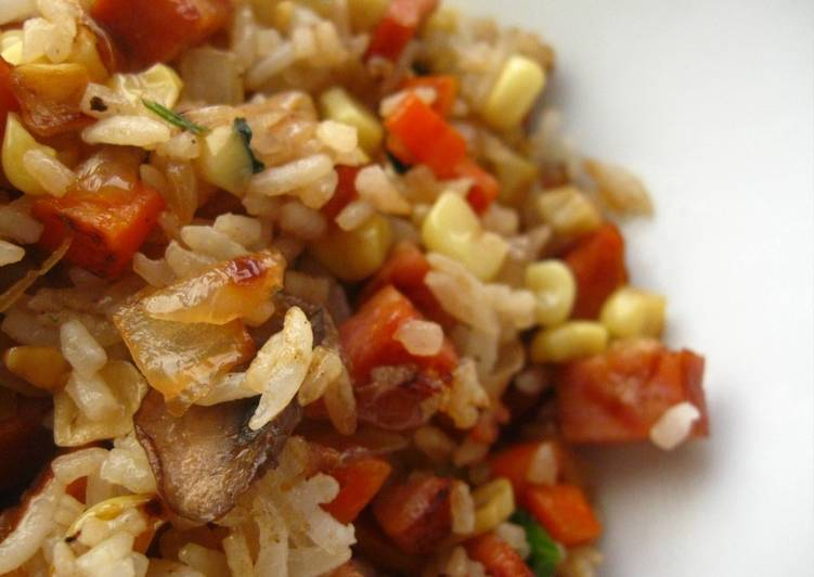 Cooking 101: Fried Rice Needs Dried Rice