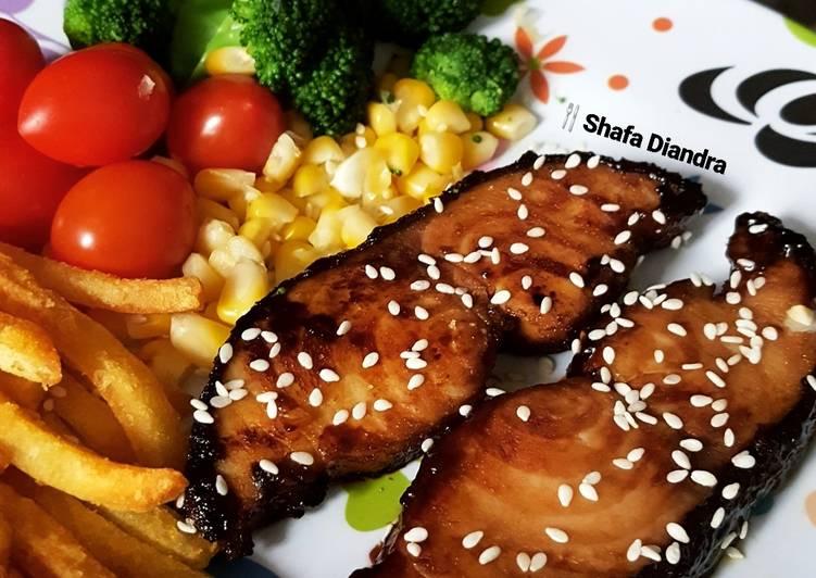 Resep Grilled Gindara Steak Oleh Shafa Diandra Cookpad