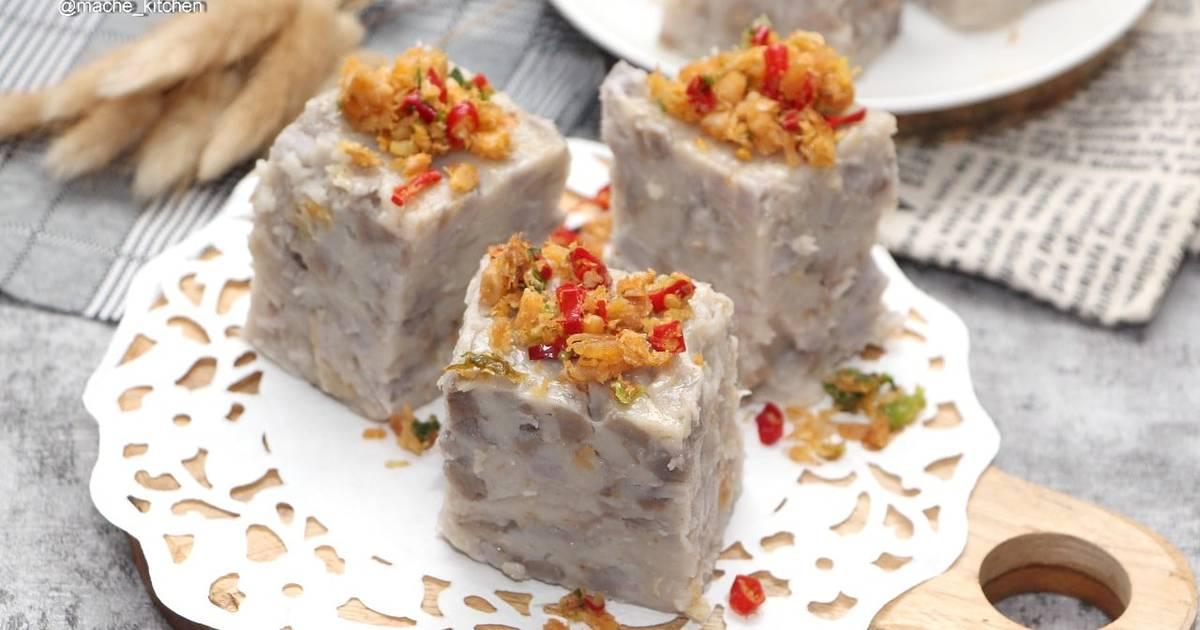 Yam Cake / kue talas ebi