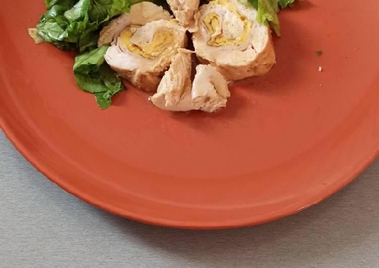 Ricetta Rotolo di pollo farcito