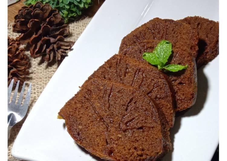 cara membuat Cake Sarang Semut - Sajian Dapur Bunda