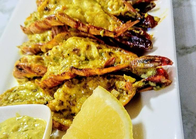 Step-by-Step Guide to Prepare Homemade Jalapeno prawns
