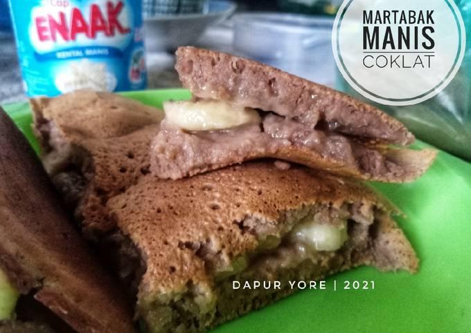 #137 Martabak Manis Coklat (anti gagal)
