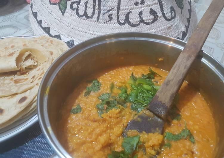 Red lentils