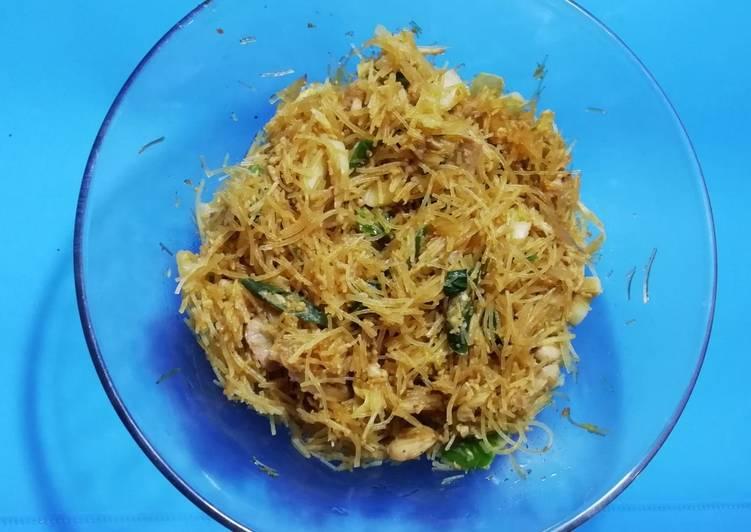 Resep Mie hun goreng jamur Paling Mudah
