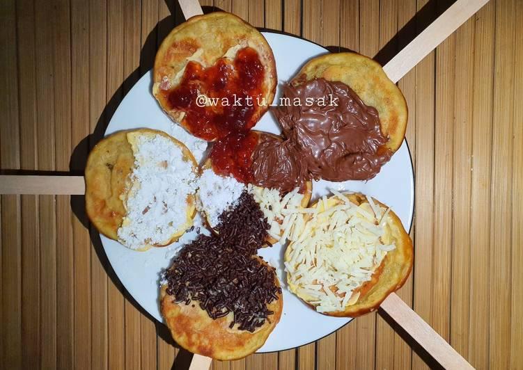 Resep 97 FCL-Anak Kos Pancake Ubi Cilembu (Bisa Ubi Lain) Bikin Ngiler
