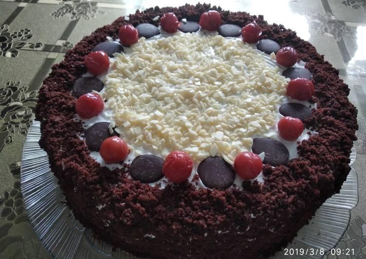 рецепт торта вишня в шоколаде