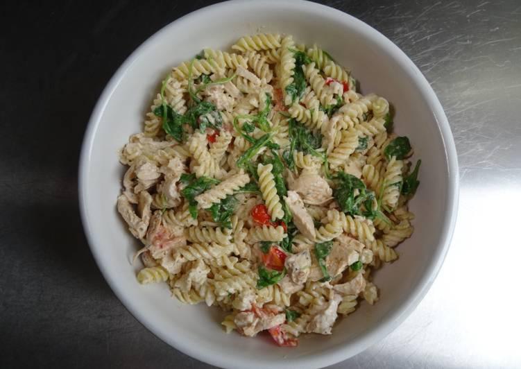 Recipe of Homemade Chicken & Rocket Pasta