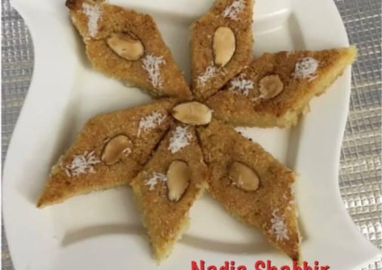 Recipe of Favorite Saudi Sweet Basbosa