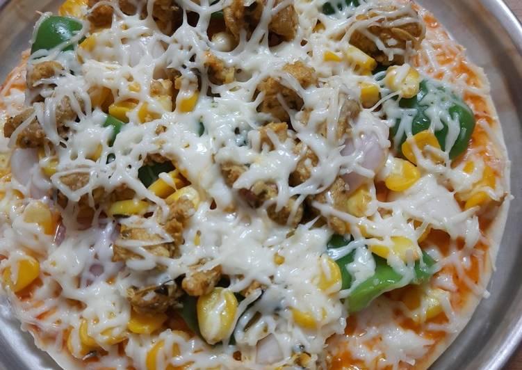 Pan pizza (chicken)