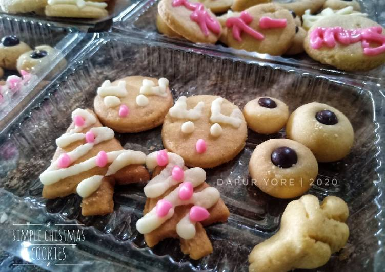 #106 Simple Christmas Cookies (oven tangkring)