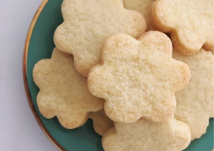 Easiest Way to Make Homemade Shortbread Cookies