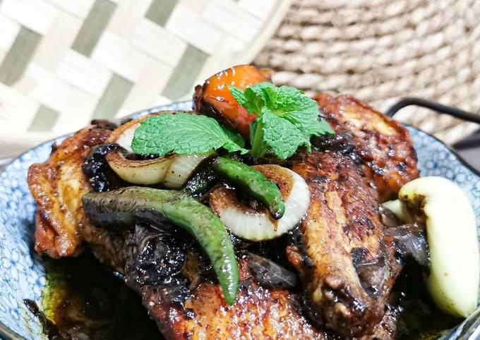 Ayam masak kicap berapi