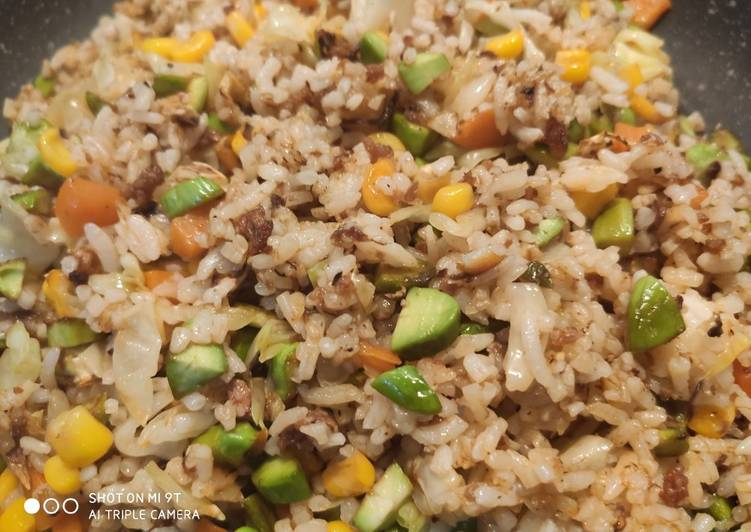 Sambal fried rice