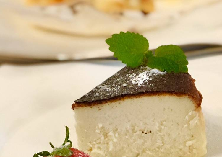How to Prepare Supreme Tasty Basque Burnt Cheesecake