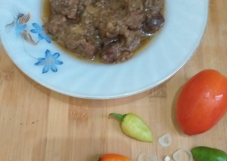 Simple Way to Prepare Quick Mutton white karahi