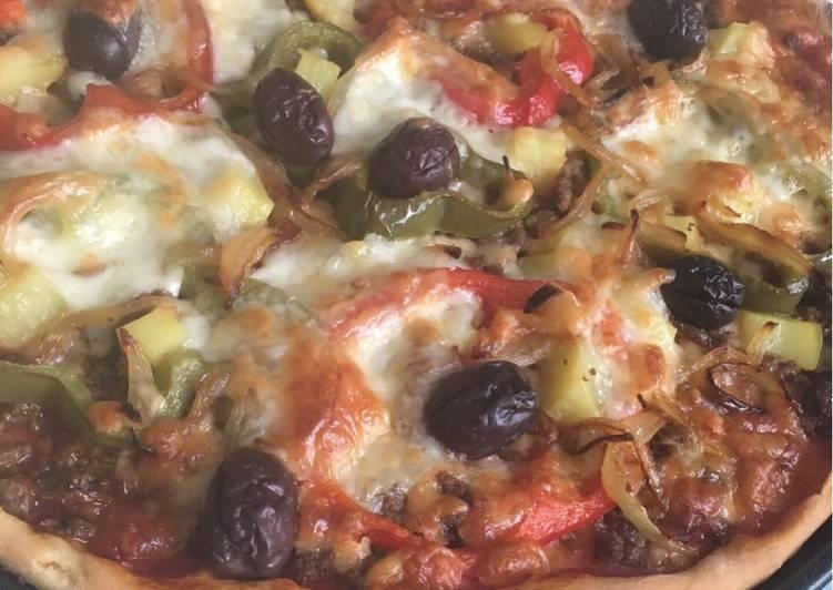 Top 7 Meilleures Recettes de Pizza à la viande hachée