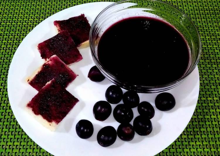 Steps to Prepare Award-winning Grapes jam