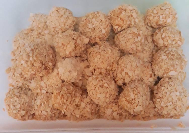 Bola- bola NESTUM NO OVEN (Kue / Snack Lebaran Simple) #part1